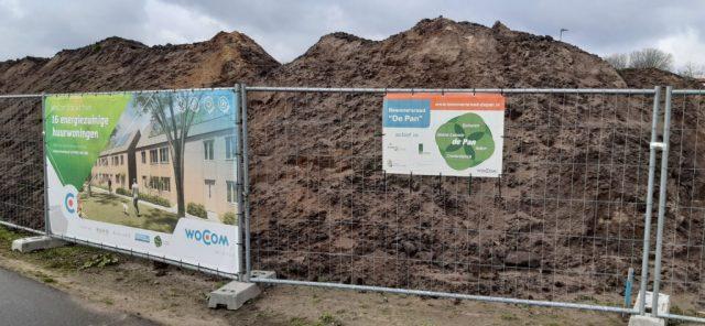 Start bouw 16 sociale energiezuinige huurwoningen in nieuwe woonwijk Groote Hoeven in Someren