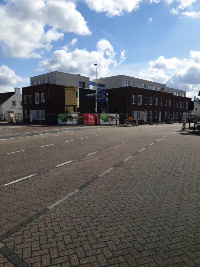 Hoogste punt project Nieuwstraat in Budel bereikt